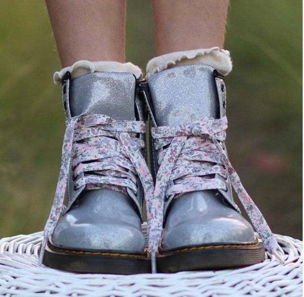 Image of Liberty Print Shoelaces in Emma + Georgina X Bespoke (Large)