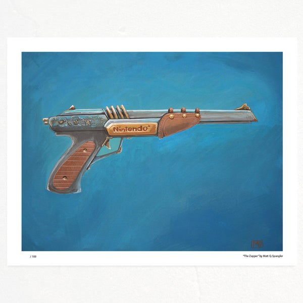 The Zapper Print - Matt Q. Spangler Illustration