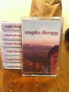 Image of Modern Baseball/Marietta Couples Therapy Cassette