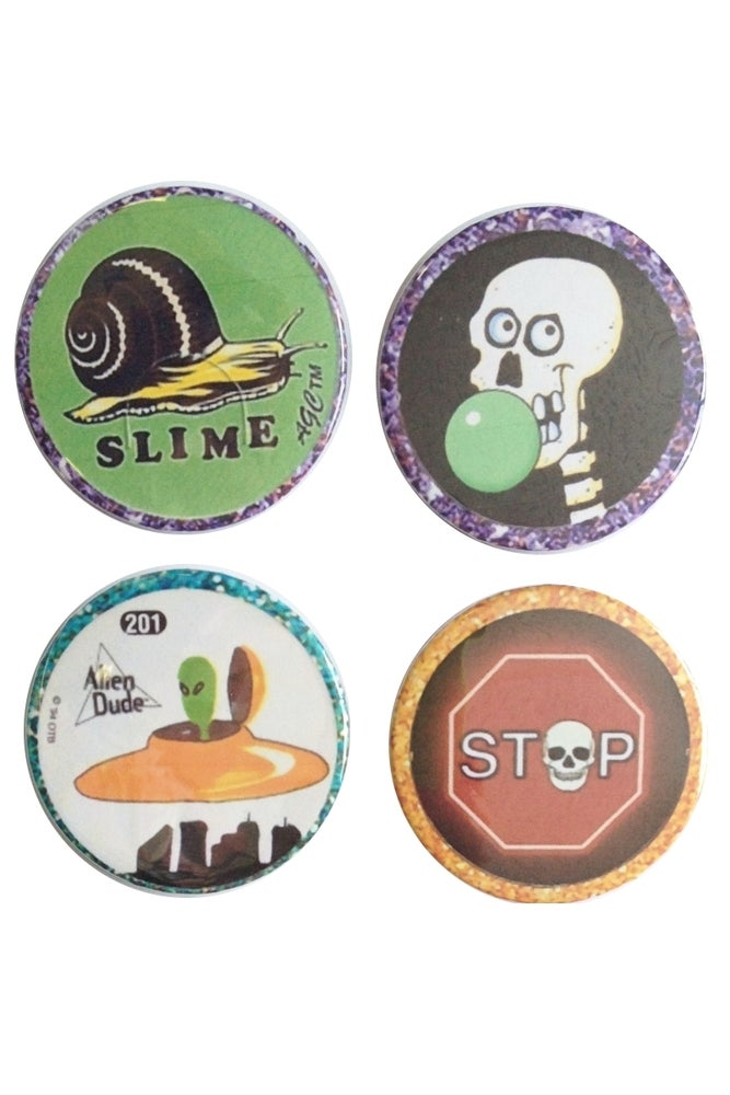 Image of NINETIES POG BUTTONS
