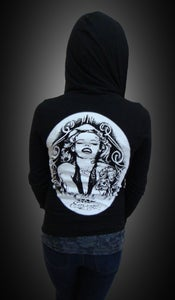 Image of Ladies - Marilyn zip up hoody