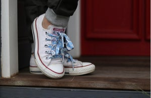 Image of Liberty Print Shoelaces in Betsy R (Large)