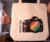 Image of 'Project Dad' tote bag