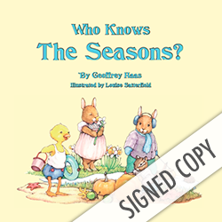 Image of Who Knows the Seasons? Signed Copy