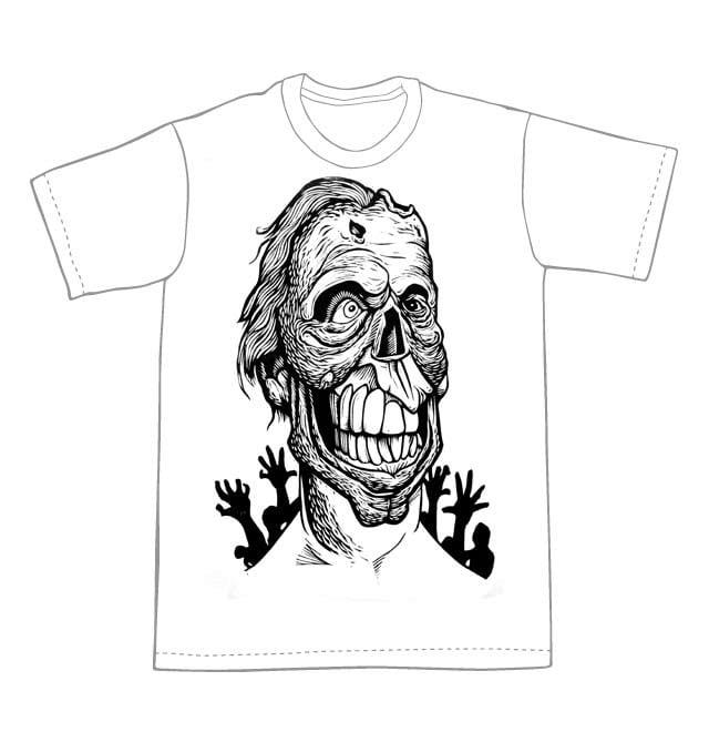 Zombie T-Shirt (A1) **FREE SHIPPING**