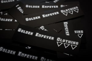 Image of Golden Empeyer stickers