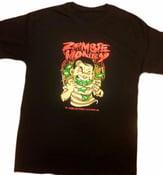 Image of ZOMBIE MONEY TEE (BLACK/RED)