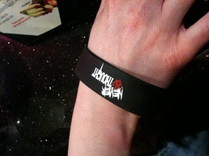 "Image of NeverThought ""Blood on my Hands"" Bracelet"