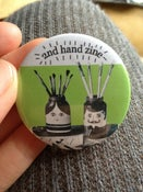 Image of Limited Edition 2nd Hand Zine Badges!!