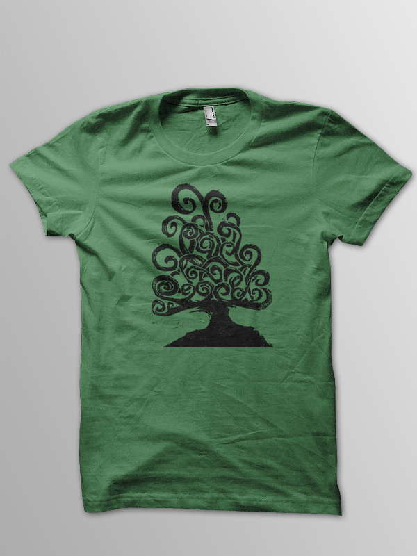 Image of Tree of Life Woodcut