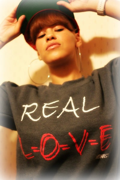 Image of #REAL LOVE CREWNECKS  ( MARY J BLIGE)  (HALLEY RAY ) #CLASSIC