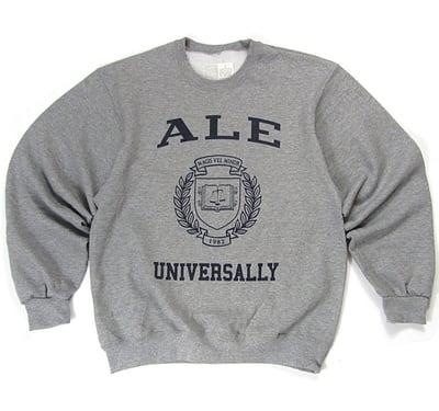 Image of A.L.E Univerally Crewneck – Gray