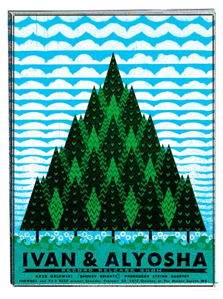 Image of Ivan & Alyosha. Showbox at the market!