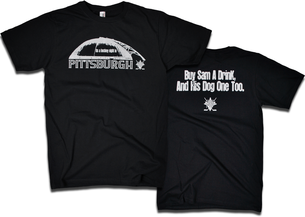 "Image of ""It's a hockey night in Pittsburgh"" tee"