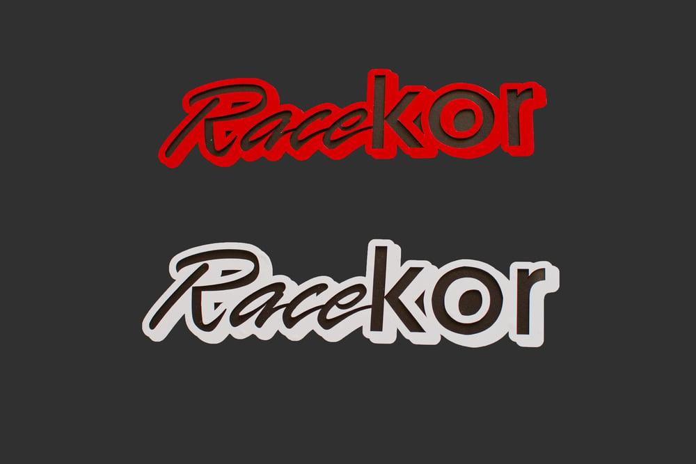 Image of RaceKOR vinyl sticker