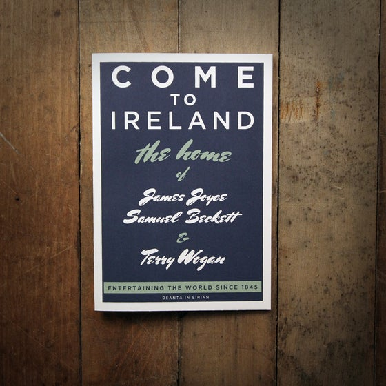 Image of COME TO IRELAND - WOGAN greeting card