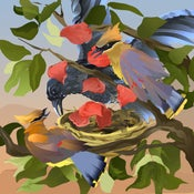 Image of Nesting With Roses