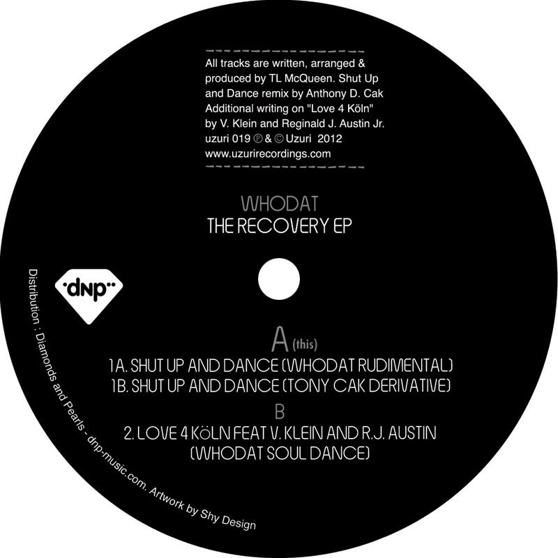 Image of The Recovery EP - Whodat (uzuri recordings)
