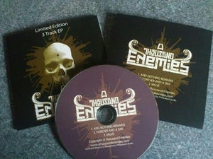 Image of LIMITED EDITION 3 TRACK EP - £5 (inc Free Postage UK)