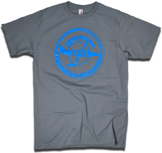 Image of Johnstown Jets 1977 NAHL hockey tee