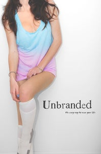 Image of Tunic Vest Ombre Pink/lightBlue