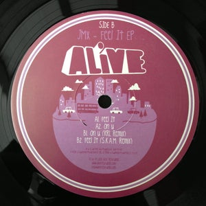 "Image of ALiVE042 / JMX / Feel It EP (KRL / SKAM Remixes) (12"" Vinyl)"