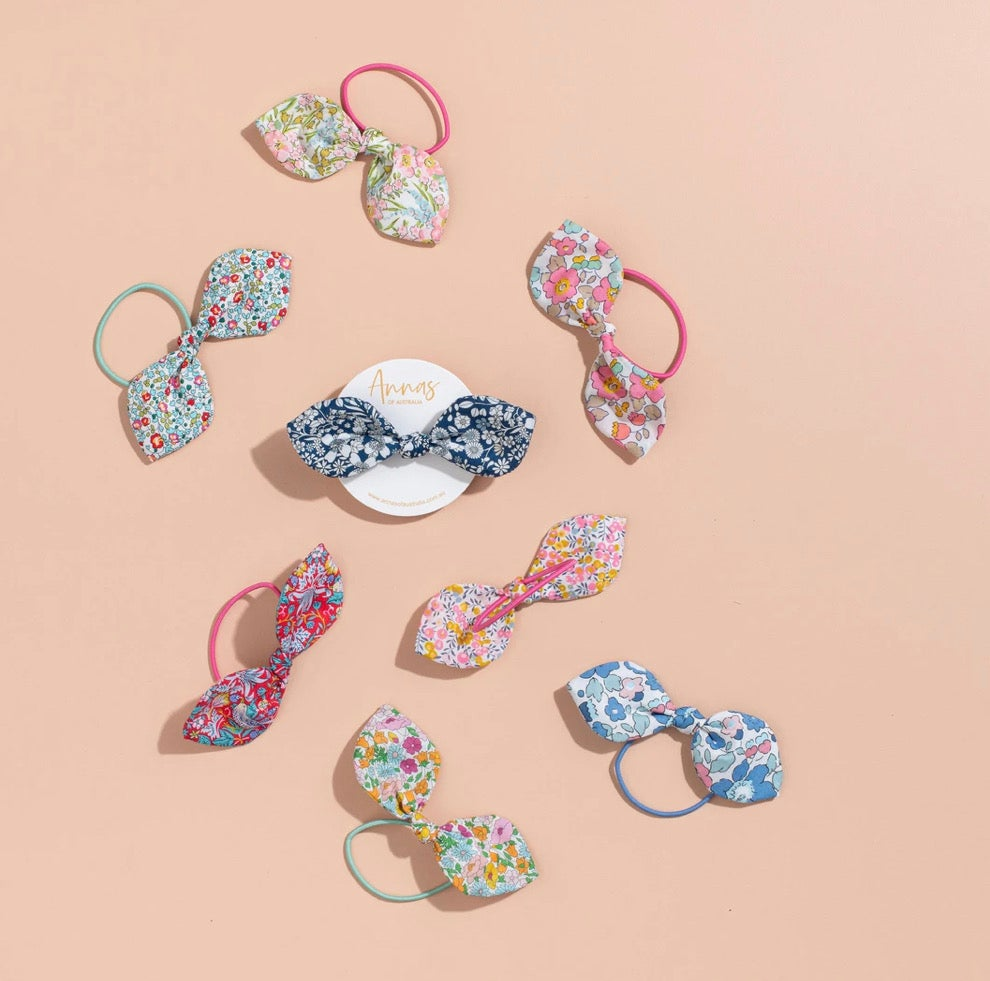 Image of Liberty Print Bow Hair Tie
