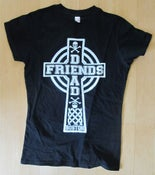 Image of Girl's celtic cross shirt