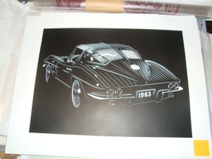 Image of '63 Corvette split window coupe