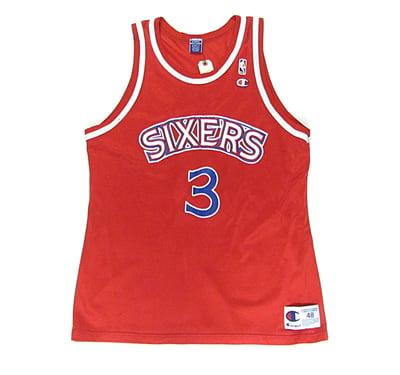 Image of Allen Iverson Philadelphia 76ers Alternative Jersey