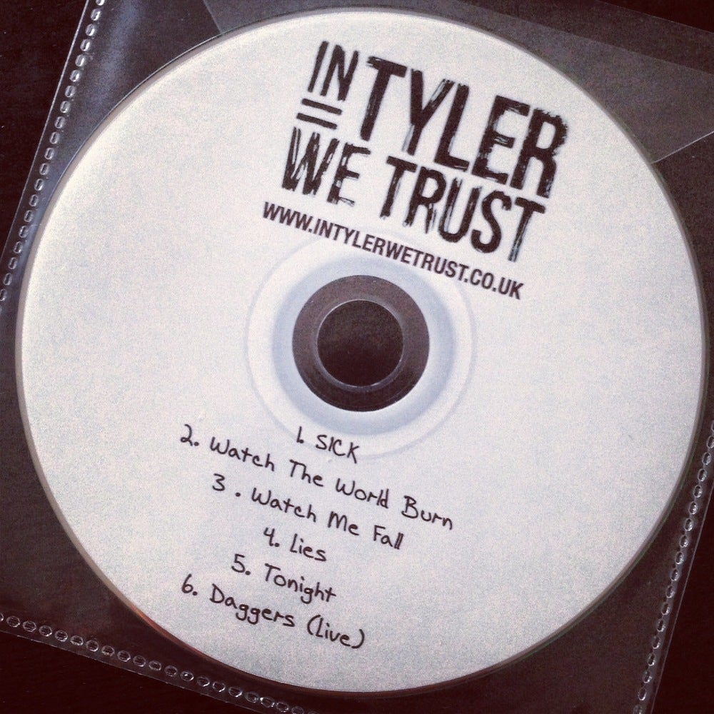 Image of 6-Track Promo CD