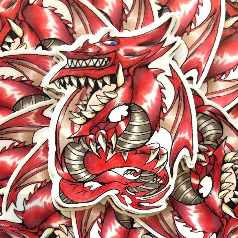 Image of Slifer The Sky Dragon Sticker