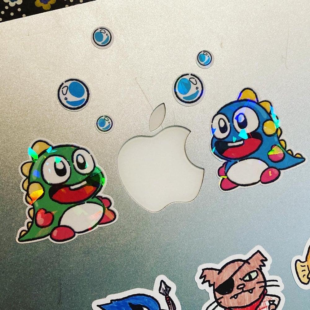 Bubble Bobble Sticker Sheet
