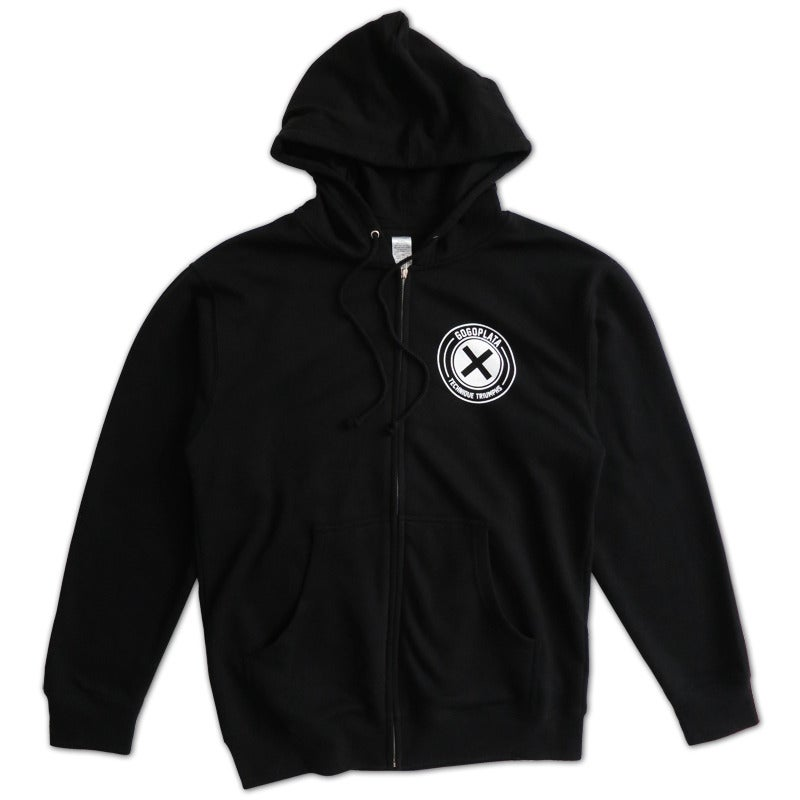 Image of Technique Zip Hoodie (black)