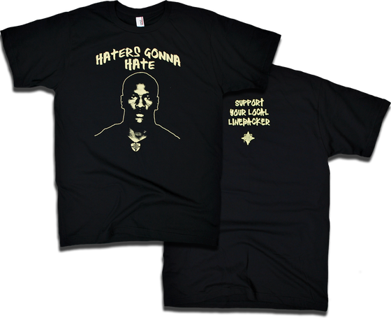 "Image of ""Haters Gonna Hate"" tee by Backpage Press"
