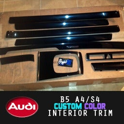 Image of PROJECTB5 - B5/C5 Audi *CUSTOM-COLOR* INTERIOR TRIM