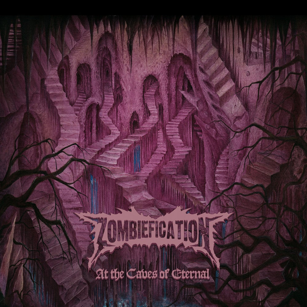 "Image of ZOMBIEFICATION ""At The Caves Of Eternal"" Digipak CD"