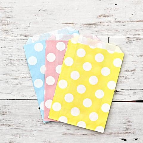 Image of Polka Dot Paper Bags