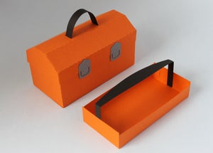 Image of Tool Box Favor Box