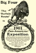Image of Big Four Rail Route - 1901 Pan American Expoition