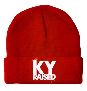 Image of KY Raised Beanie (Red, KY Blue, Black, Navy or Dark Grey)