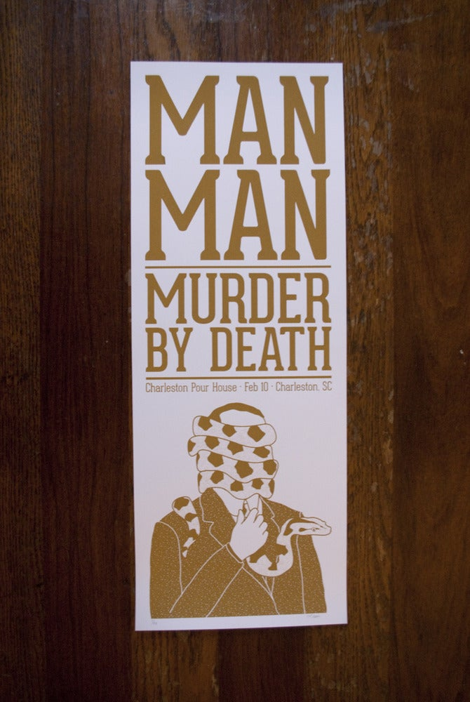 Image of Man Man & Murder by Death (Charleston 2013)