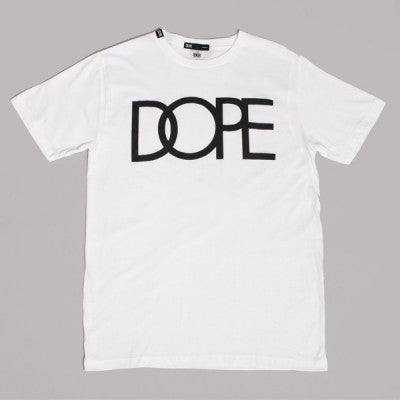 Image of Dope Couture - Classic Logo T-Shirt White