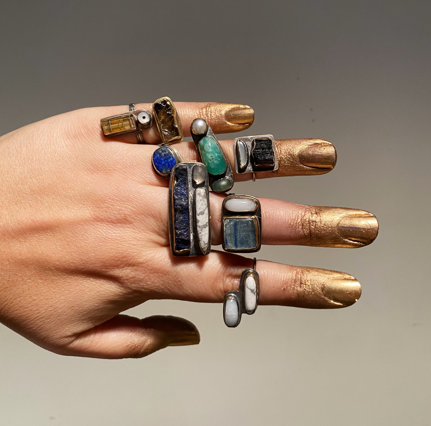 Image of Collage Ring 8