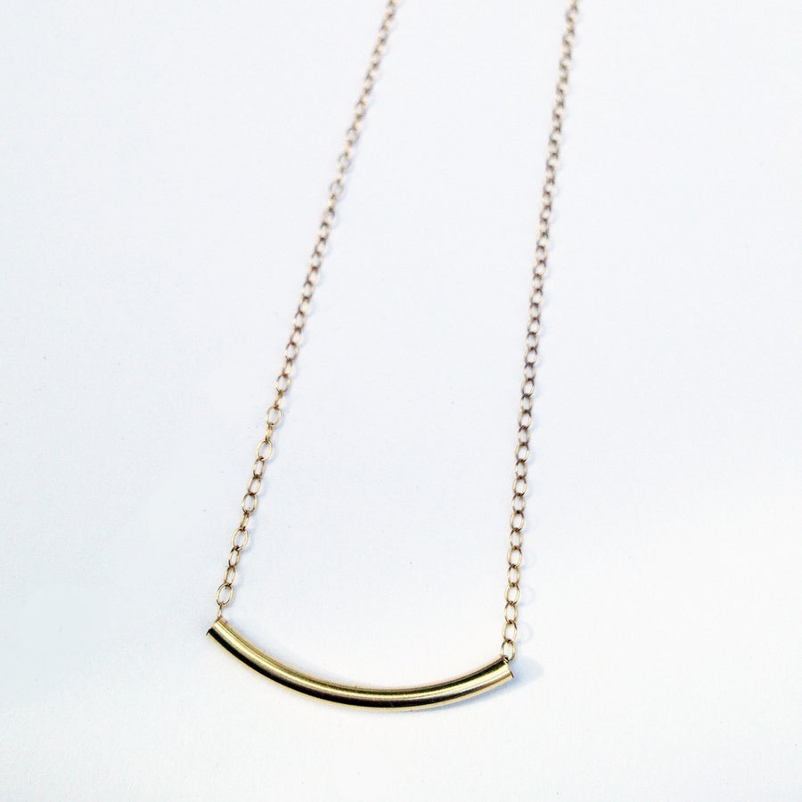 Image of BALANCE BAR NECKLACE