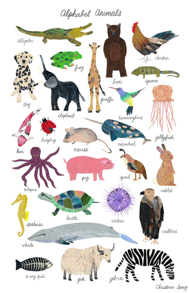Image of Alphabet Animals