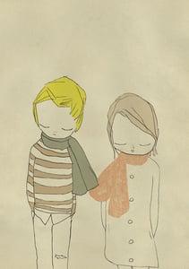Image de I like your scarf