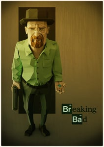 Image of Walter White Print (A3)