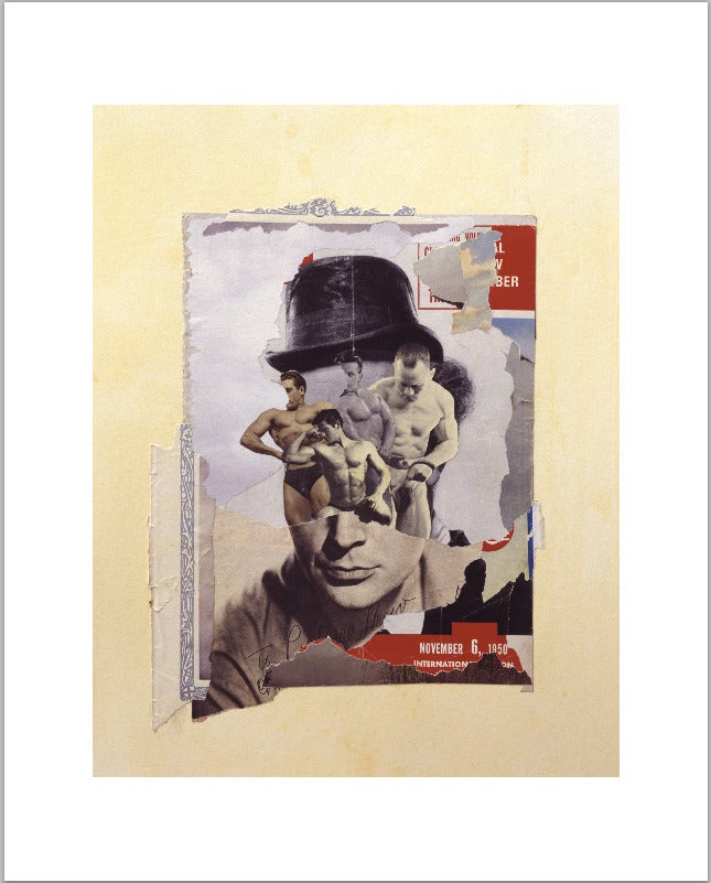 Image of Thinking man/men. Giclee limited edition fine art print