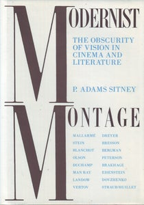 Image of Modernist Montage, by P. Adams Sitney